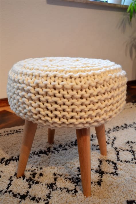 Customiser Un Tabouret by F 233 E Du Tricot Customiser Un Tabouret Avec Du Tricot Tuto