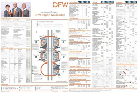 dfw airport map dallas fort worth airport map