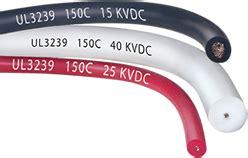 high voltage silicone rubber wire ul3239 15kv 40kv 150c high voltage wire silicone