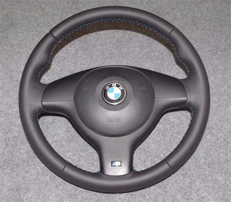 BMW E46/E39 M Sport Steering Wheel Retrimmed !!   in Selby