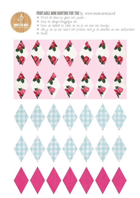 printable mini bunting flags 102 best ideas about bunting garland on pinterest party