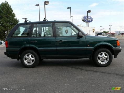 land rover racing 1997 british racing green metallic land rover range rover