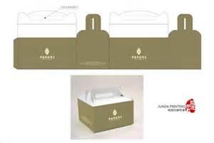 paper folding box gloss art paper cake box packaging