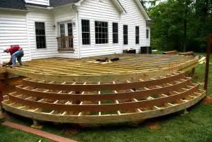 Wood deck design plans home design ideas