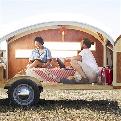 hutte hut trailer hutte hut trailer a dome on wheels home design garden