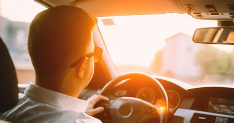 Tips for Driving With Sun Glare   AMA