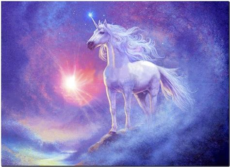 painting unicorn beautiful unicorn canvas print poster paintings