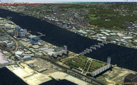 thames barrier in the future the thames barrier p3d scenery for fsx