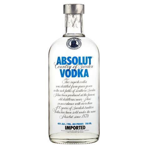 Absolute Blue absolut blue vodka 70cl buy cheap price uk