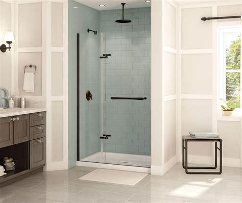 Reveal 71 Pivot Shower Door 38 41 X 71 189 In 8 Mm Maax Reveal Shower Door