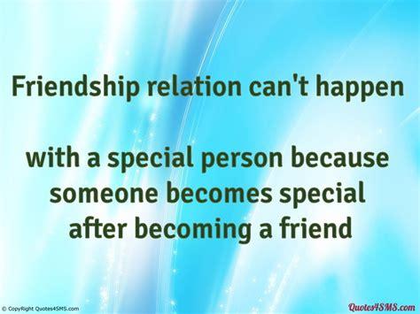 friendship special person quotes quotesgram