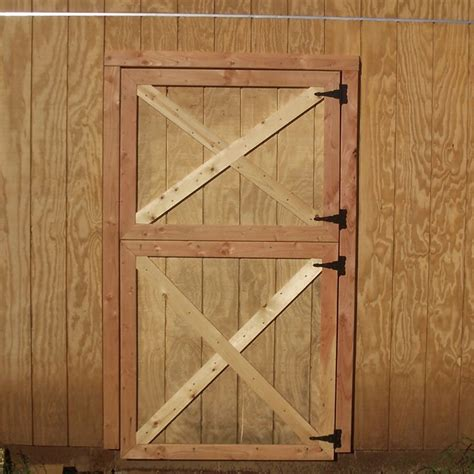 How To Build A Hinged Barn Door Free Woodworking Plans For Building Barn Doors