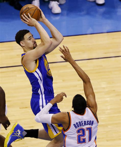 klay thompson sets nba playoff record wearing anta kt