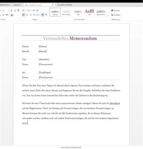 Word Vorlage Memo Vertrauliches Memo Als Wordvorlage De