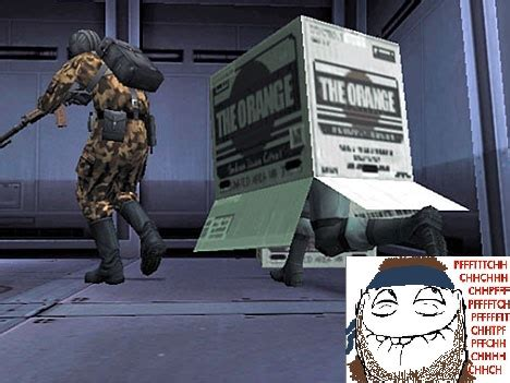 Cardboard Box Meme - cardboard box metal gear know your meme