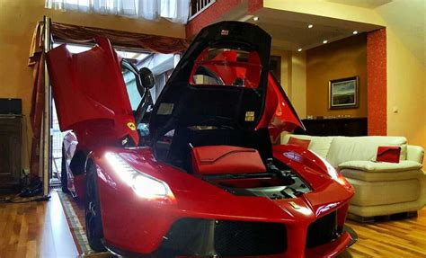 car in living room life goals park your laferrari in living room