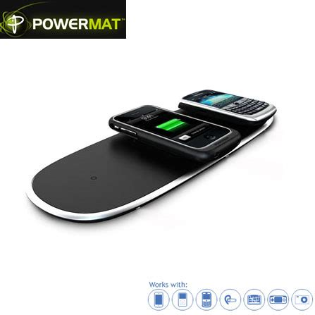 Power Mat by Powermat Wireless Charge Pad