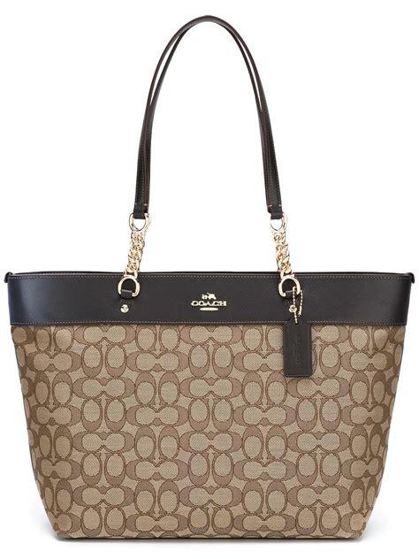 Coach Bag coach handbags outlet new york coach logo pattern tote