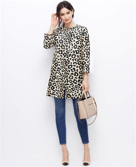 aventura clothing alexus skirt black mkyocj4r lyst leopard coat
