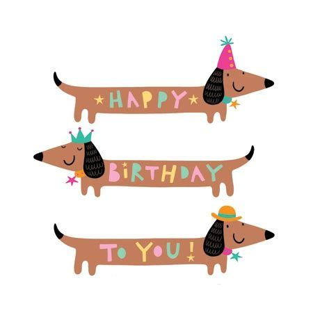 art of dachshund single coloring page happy birthday by heureux anniversaire bonheur and anniversaire on pinterest