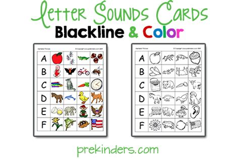 printable alphabet letters and sounds 6 best images of letter sounds printables alphabet