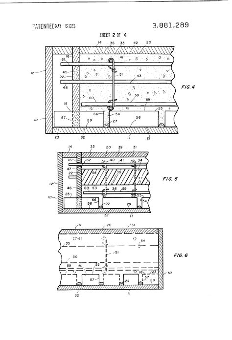 reinforced concrete wall section patent us3881289 building walls and prefabricated