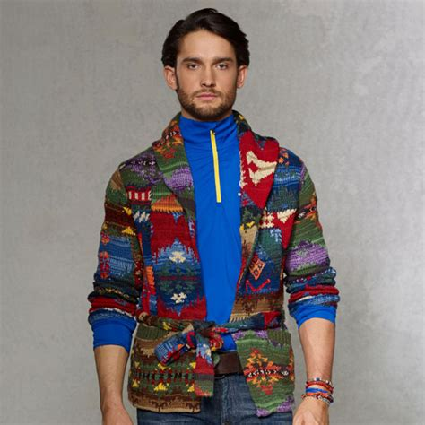 Ralph Patchwork Sweater - asap ferg 2014 polo ralph and rlx splash splashy