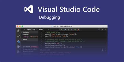 node js tutorial visual studio code debug node js apps using vs code
