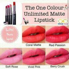 Lipstik Oriflame Matte lipstick diary 1 essence longlasting lipstick