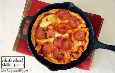 quick skillet whole wheat pizza deliciously organic whole wheat skillet pizza kim s cravings