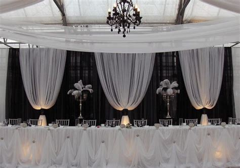 how to make a pipe and drape backdrop professional wedding backdrop kit w pipe drape valence