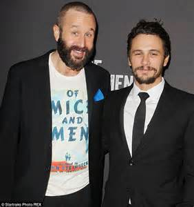 james franco and chris o dowd win rave reviews for of mice