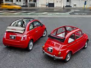 Fiat 500 Vs 500c Topical Advertising Vs New Ran When Parked