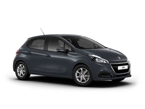 peugeot 2 door peugeot 208 5 door 1 2 puretech 82 active car leasing
