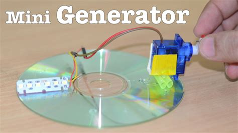 how to make a mini generator at home v easy