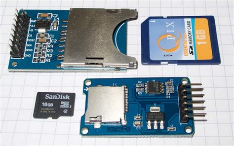tutorial arduino sd card tutorial using sd card breakout boards with arduino