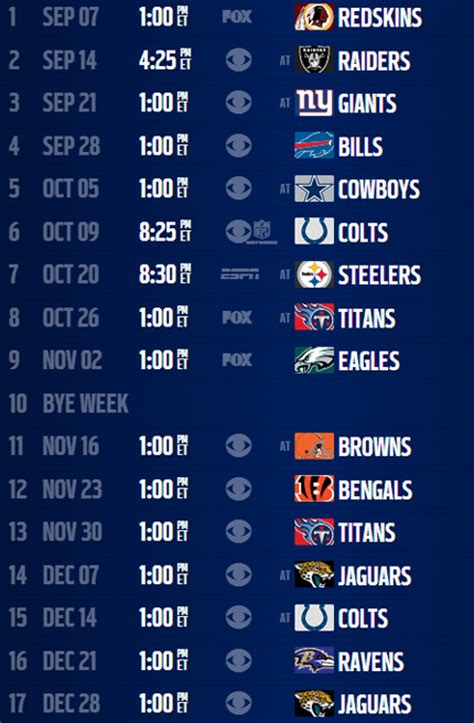 the whole nfl schedule autos post