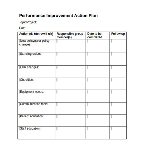 plan templates word project plan template 9 documents in