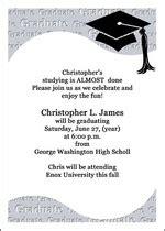 8th grade graduation invitations middle school announcements and junior high school graduation