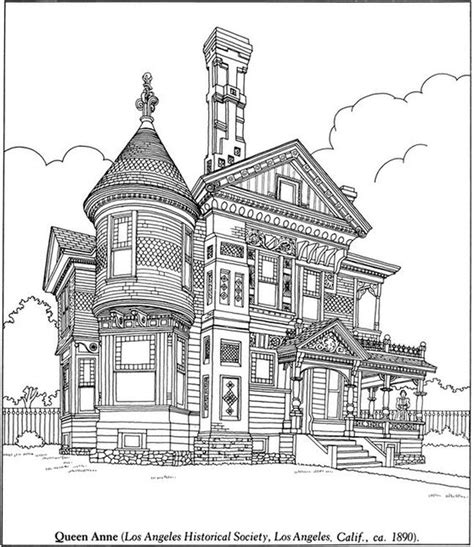 victorian house coloring pages free challenging realistic coloring pages of victorian house