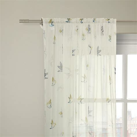 small voile curtains buy john lewis pipit voile panel online at johnlewis com