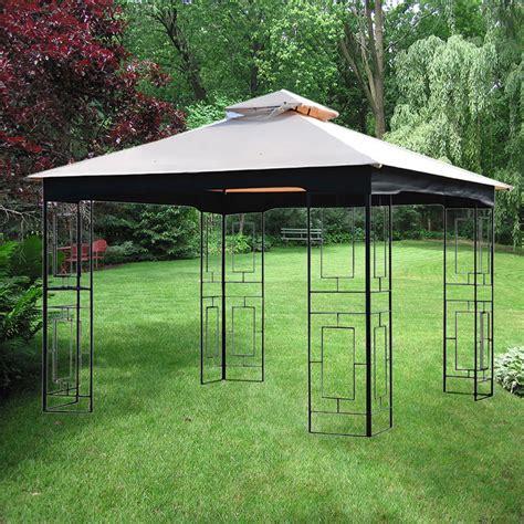 Garden Treasures Gazebo Accessories Replacement Canopy Gt Geo Gazebo Riplock 350 Garden