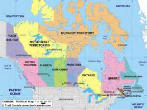 maps canada canada map political city map of canada city geography