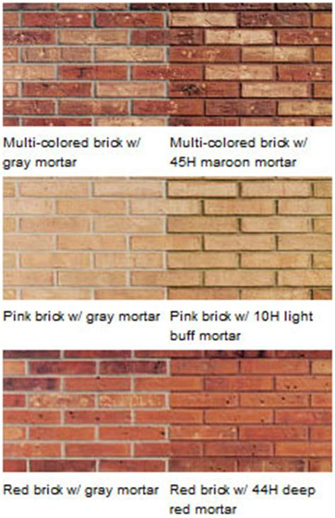mortar color mortar colors masonpro