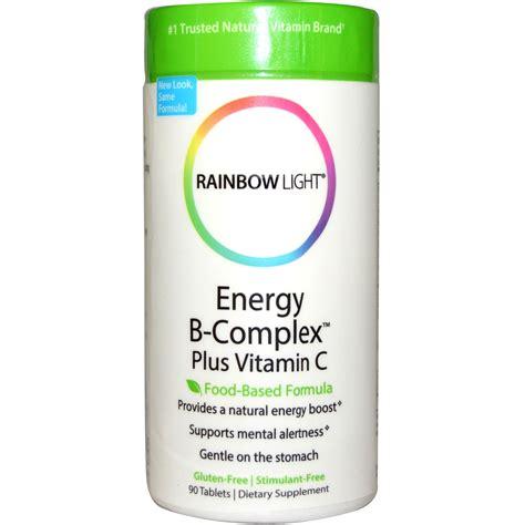 rainbow light b complex rainbow light energy b complex plus vitamin c food based