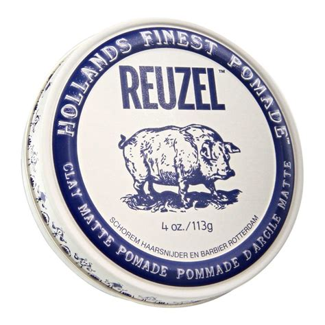 Terlaris Pomade Reuzel Clay Matte Strong Hold Made In Free Si reuzel clay matte pomade 4oz jenin pomade malaysia