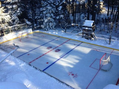 rink for backyard backyard rink dennis since 2007
