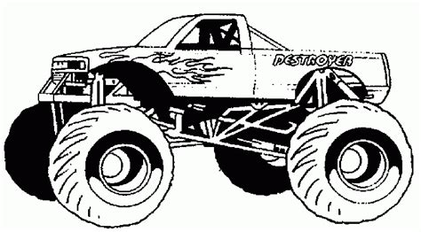 creating custom hot wheels monster truck coloring pages