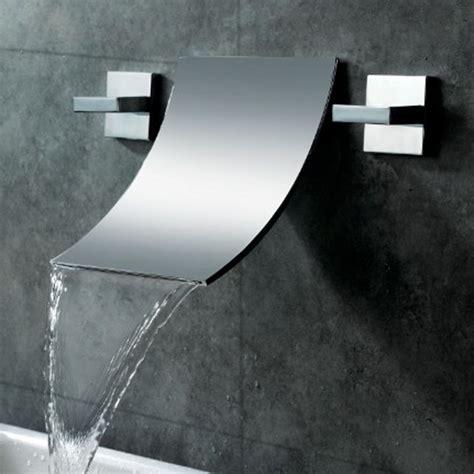 Kohler Bathroom Shower Faucets Design Sink Faucet Design Modern Bathroom Faucet Designs Classic Simple Waterfall Water Flow Curved