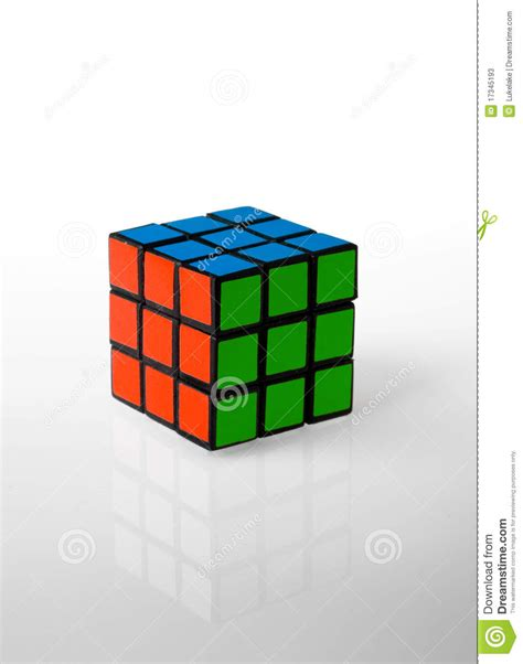 Dijamin Cube Gaming Rgb Cabrion Black White rubik s cube whit rgb colors editorial stock photo image 17345193